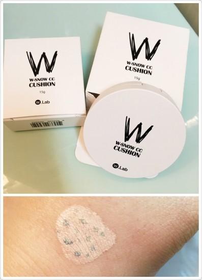 W.lab公司 w-snow cc 雪花清凉气垫 (SPF50+ PA+++)