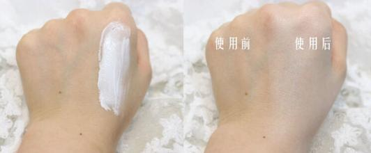 V7素颜霜使用对比