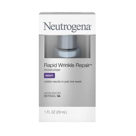 露得清Neutrogena 极速抗皱修复晚霜