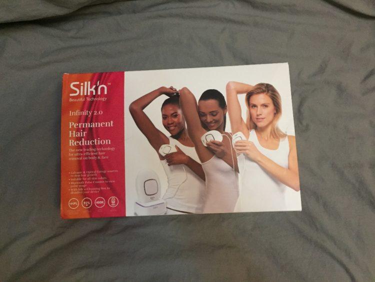 Silk'n infinity2.0 家用脱毛仪开箱记--外盒