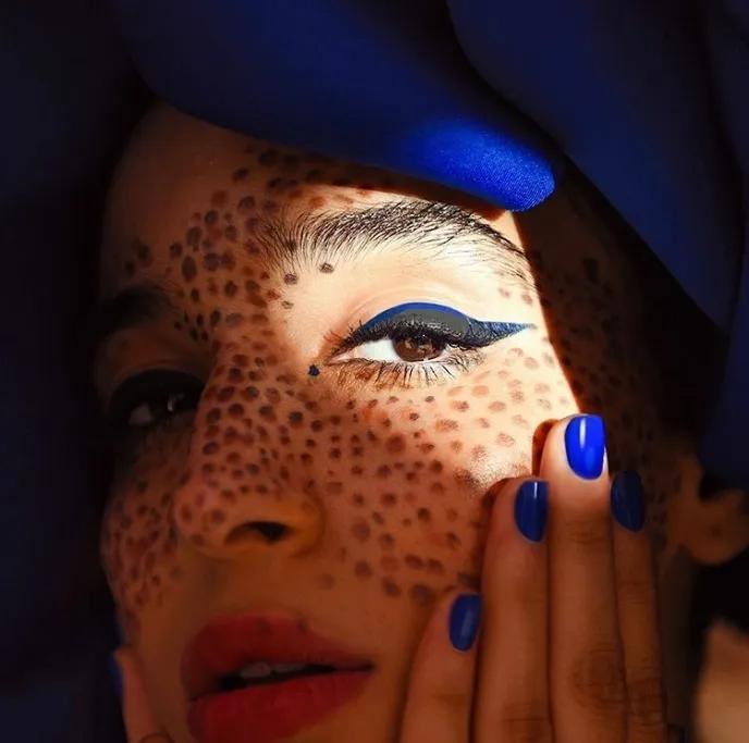 YSL la laque couture 18#,blue majorelle