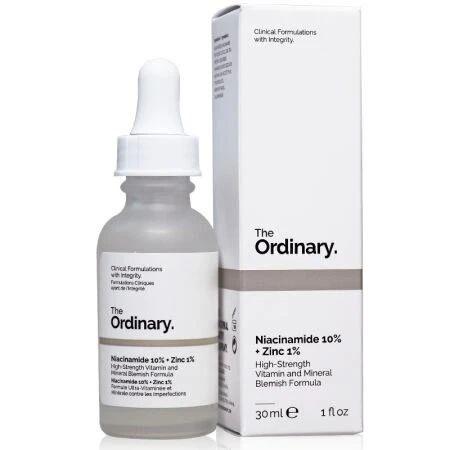 The Ordinary 10%烟酰胺+1%锌精华